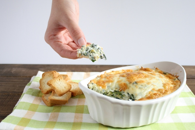 Skinny-Spinach-Artichoke-Dip