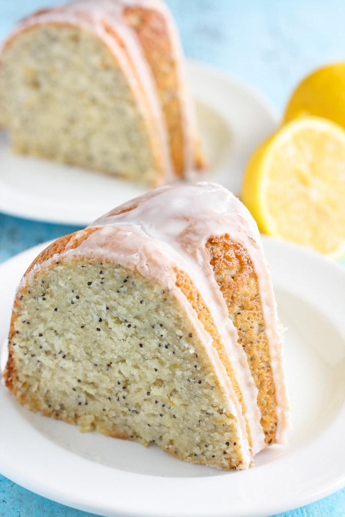 Lemon Poppy Seed Bundt Cake From Cake Mix