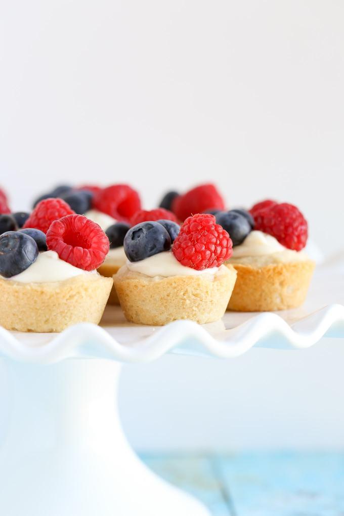 Lemon Berry Cheesecake Sugar Cookie Cups - Live Well Bake ...