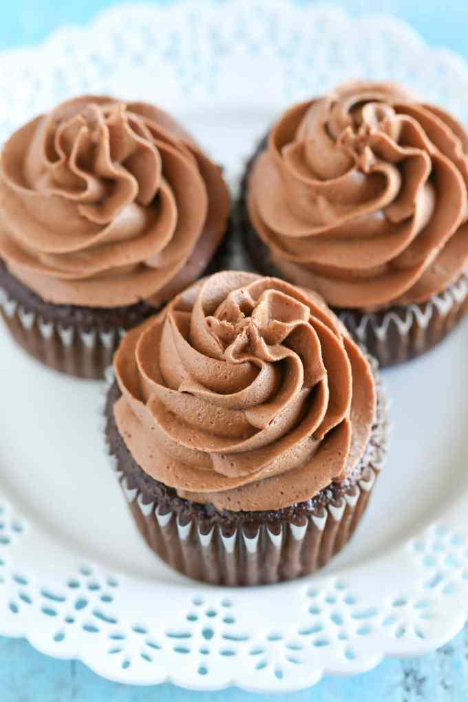 Chocolate Cupcakes Recipe - Live Well Bake Often