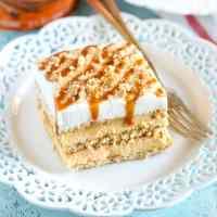 No-Bake Pumpkin Caramel Icebox Cake
