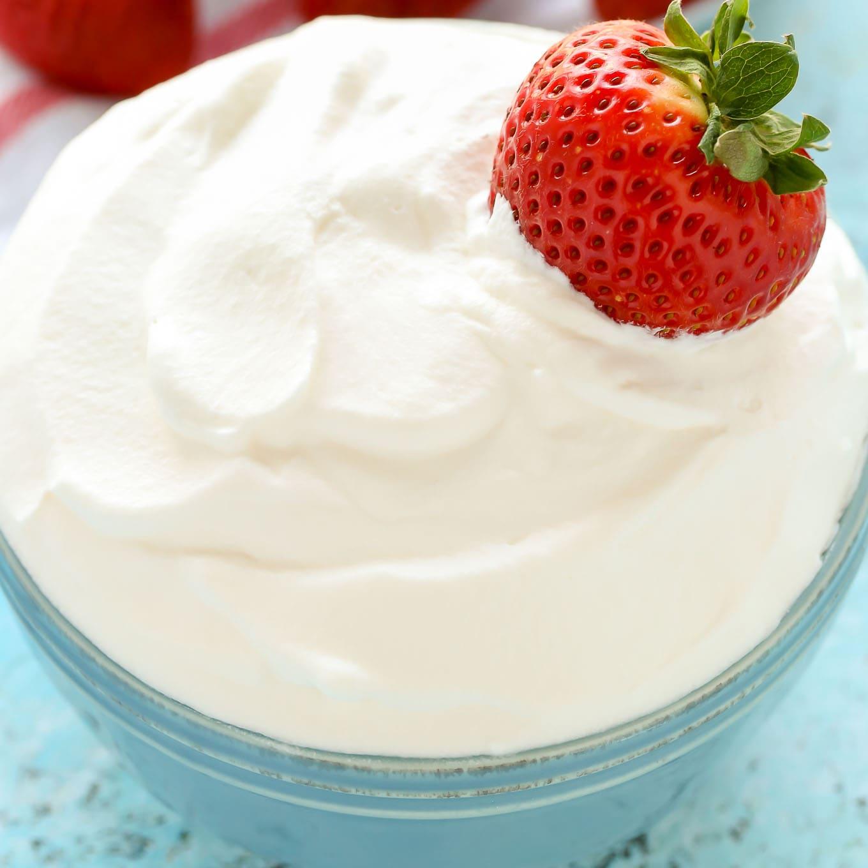 Recipes Whipped Cream: Homemade Whipped Cream
