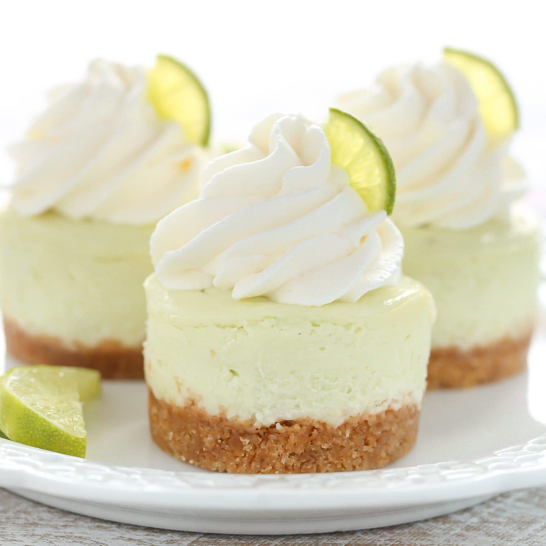 Mini Key Lime Cheesecakes Live Well Bake Often