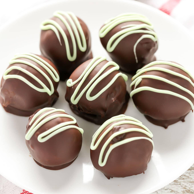 Chocolate Covered Chocolate Truffles