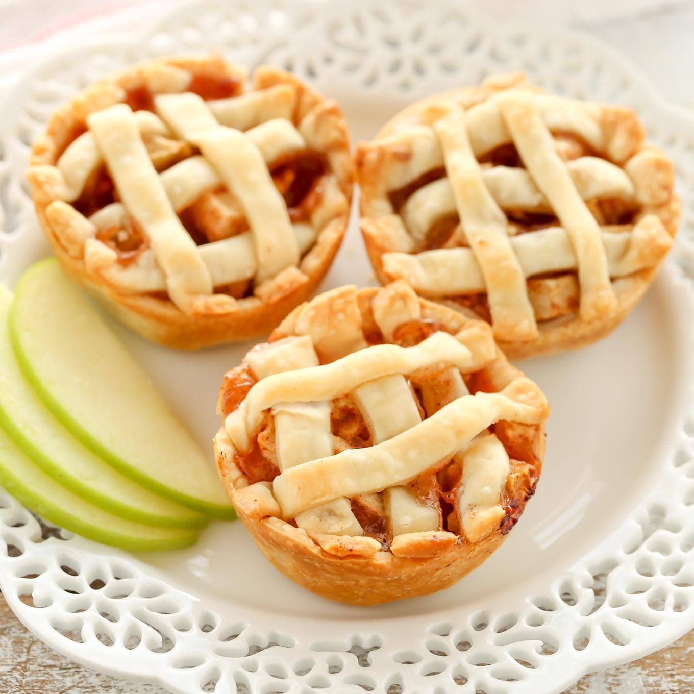 mini apple pies live well bake often