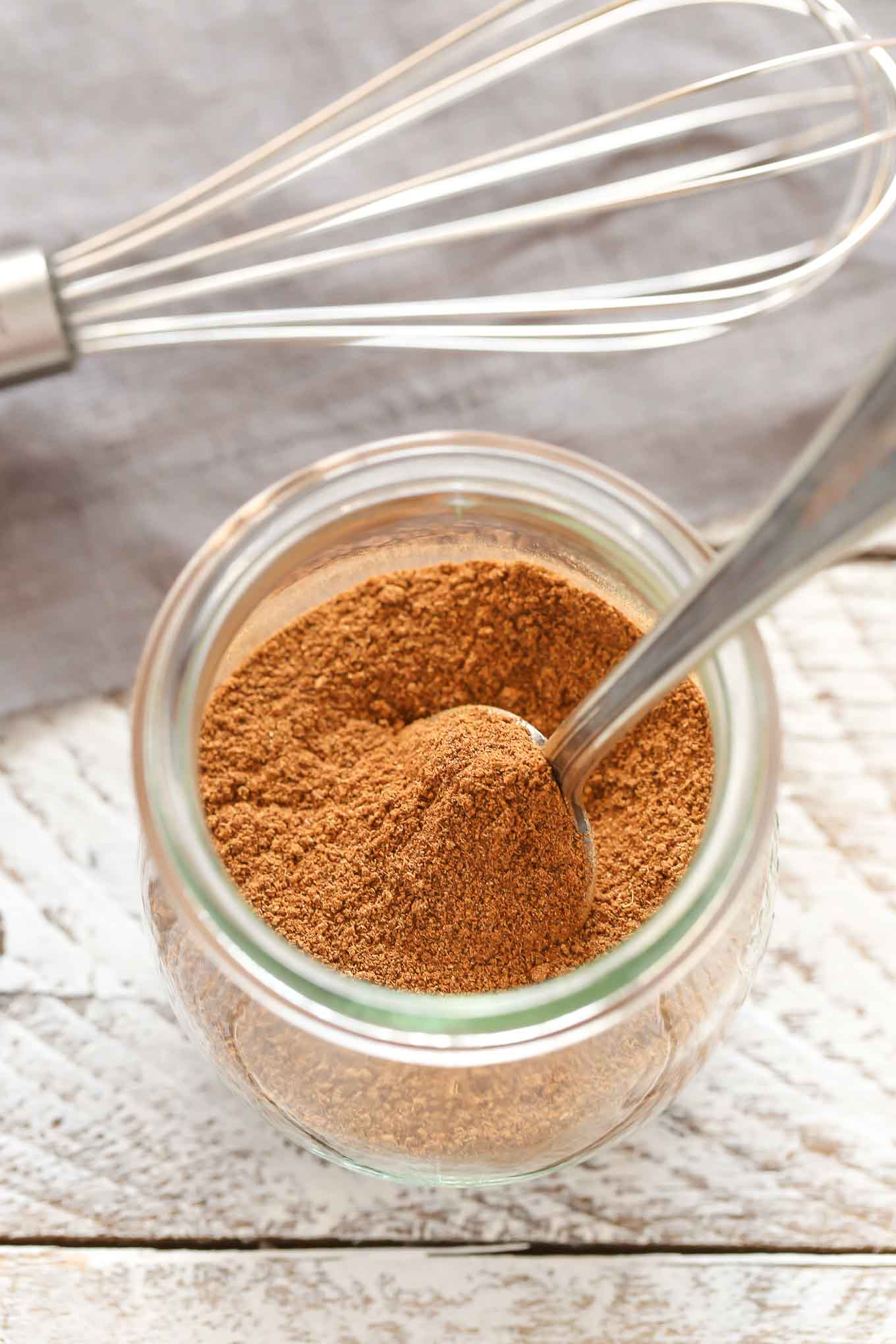 Learn how to make your own pumpkin pie spice in less than 5 minutes with just a few common spices. Perfect for fall cookies, breads, pies, and so much more!