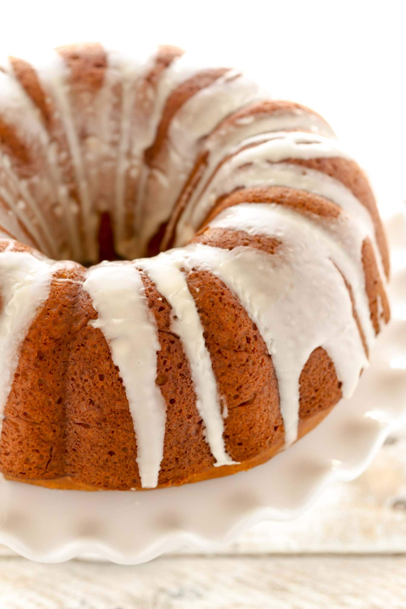 pumpkin cream cheese bundt cake live well bake often