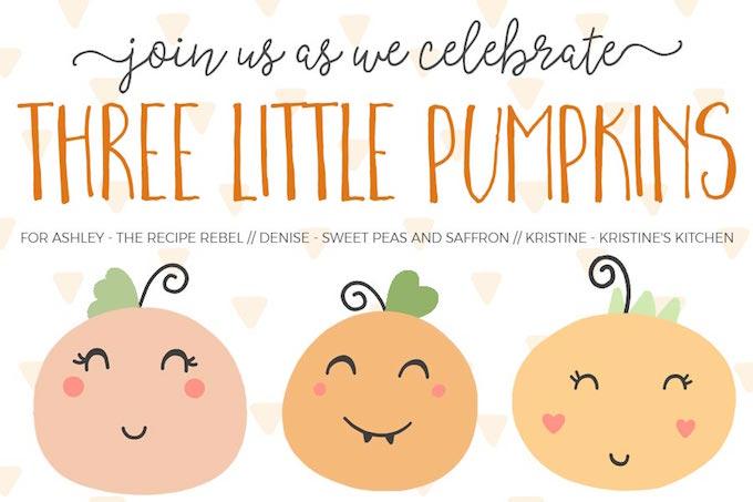 Three Little Pumpkin's Virtual Baby Shower