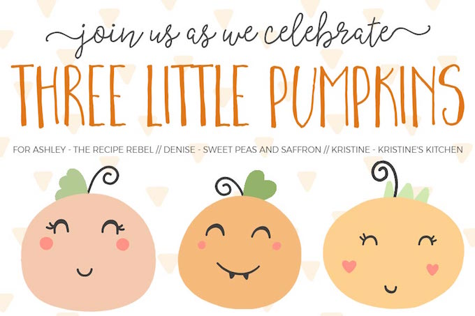 Three Little Pumpkin's Virtual Baby Shower