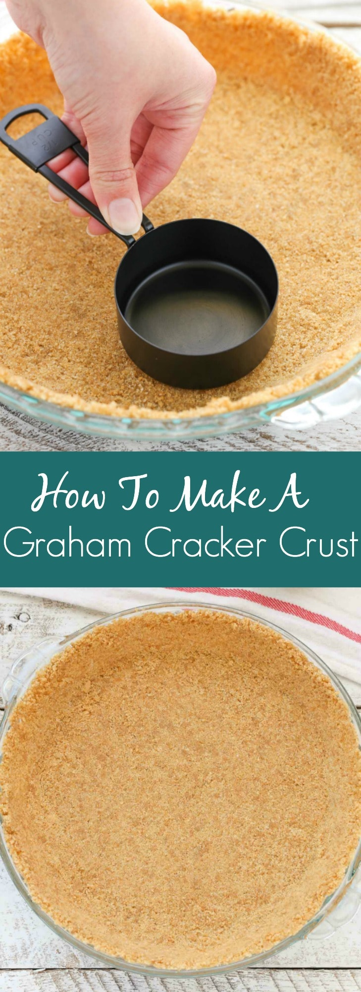 How to make a graham cracker crust live well bake often learn how easy it is to make your own graham cracker crust with this simple tutorial solutioingenieria Images