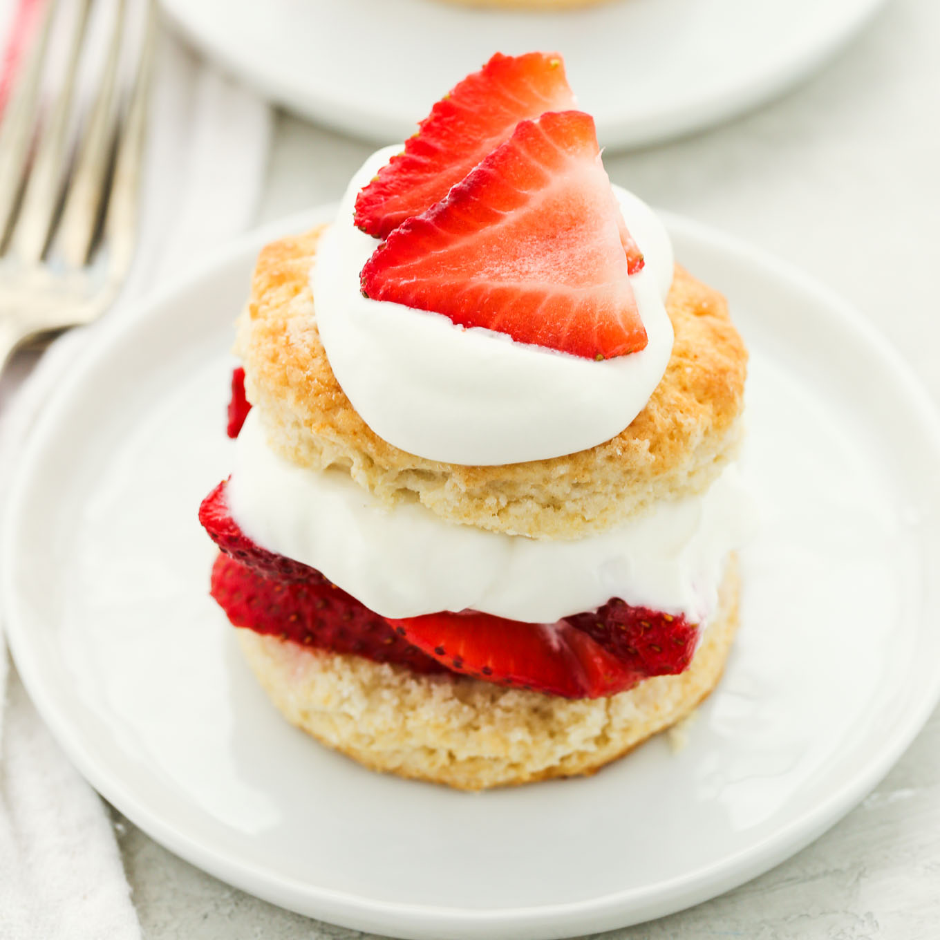 Homemade Strawberry Shortcake Live Well Bake Often
