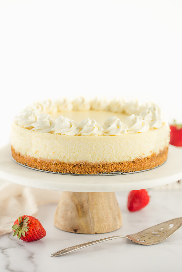 Groovy Classic Cheesecake Recipe Live Well Bake Often Personalised Birthday Cards Veneteletsinfo