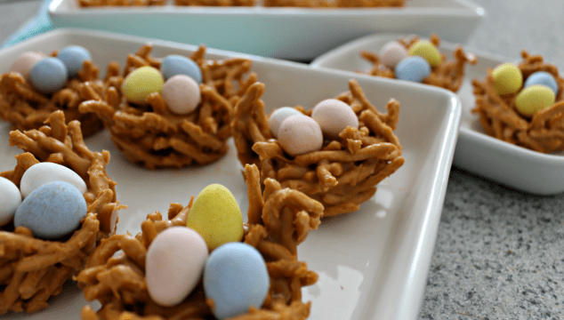 Easter Bird Nest Cookies Archives Live Well Play Together