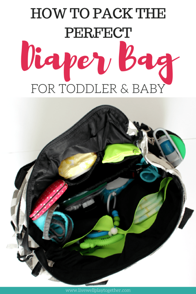 5c9dd7b6b57 Diaper Bag Essentials for Toddler and Baby - Live Well Play Together