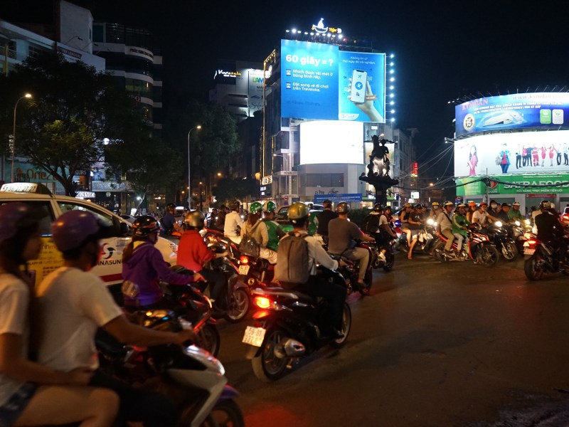 Three days in bustling Saigon