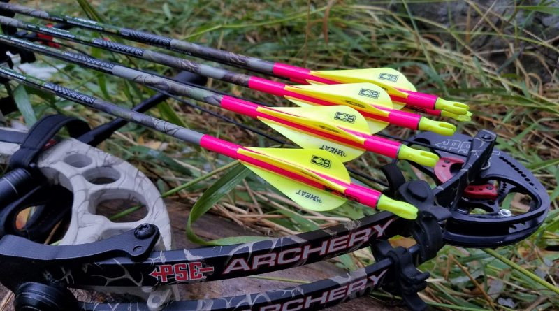 How To Fletch Arrows With 4 Vanes Using The New Bohning Heat Vanes