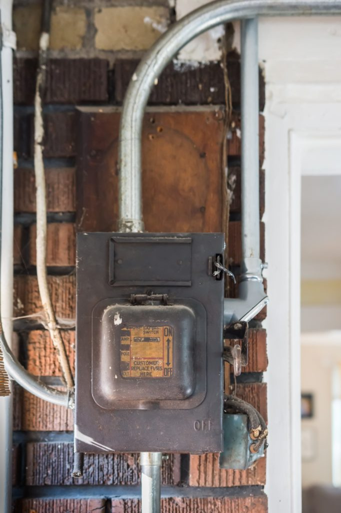 Knob And Tube Or Kt Wiring Was The Method Of Wiring Used In Homes