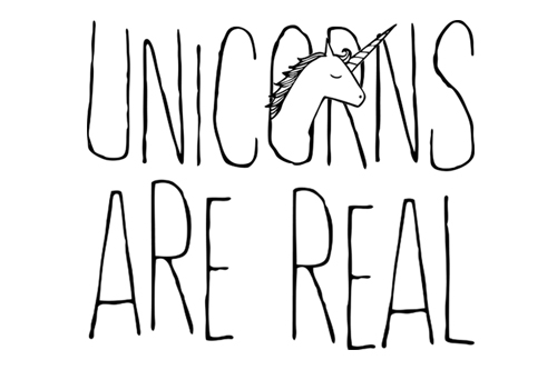 Image result for unicorns are real
