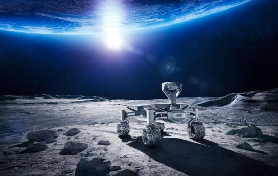 Lunar XPrize and the Lunar Quattro from Audi