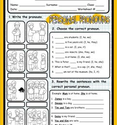 35 Esl Subject Pronouns Worksheet - Free Worksheet Spreadsheet [ 1411 x 1000 Pixel ]