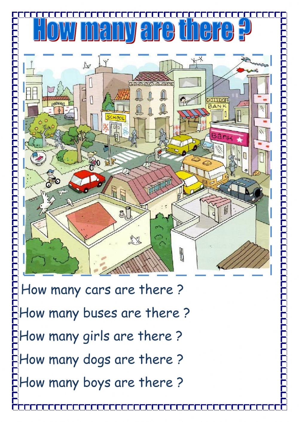 How many are there   Interactive worksheet