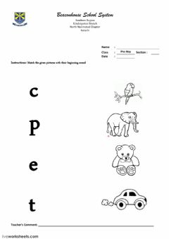 Worksheets by Sabakhan