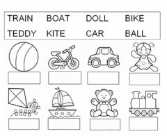 English Exercises: Reading Comprehension / Toys