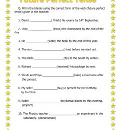 Simple future tense worksheets with answers [ 1413 x 1000 Pixel ]