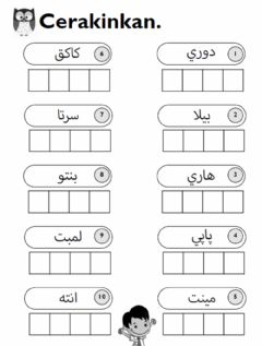 Worksheets by amalina10