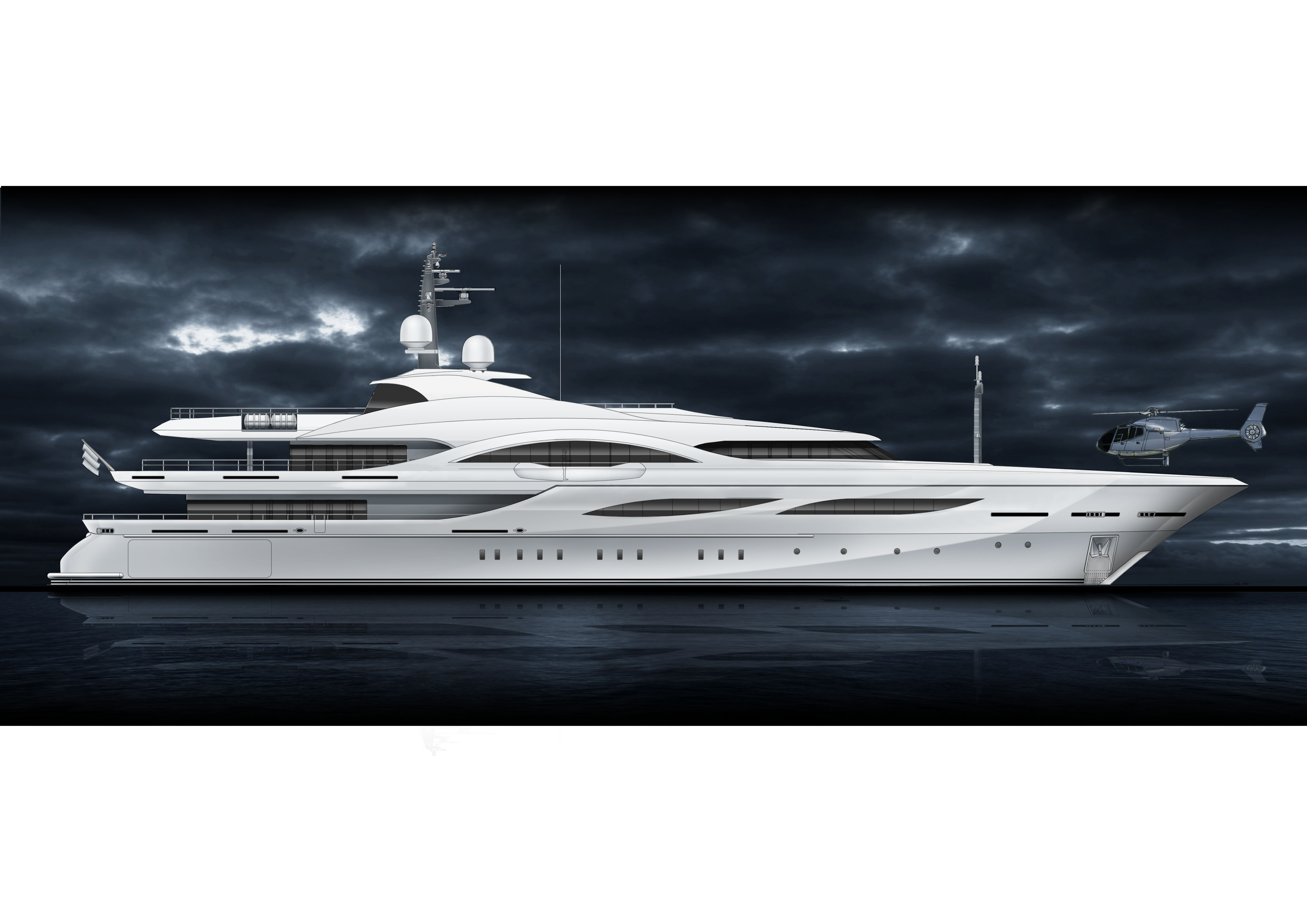 Fraser Yachts Amp Proteksan Turquoise Announce New 726m