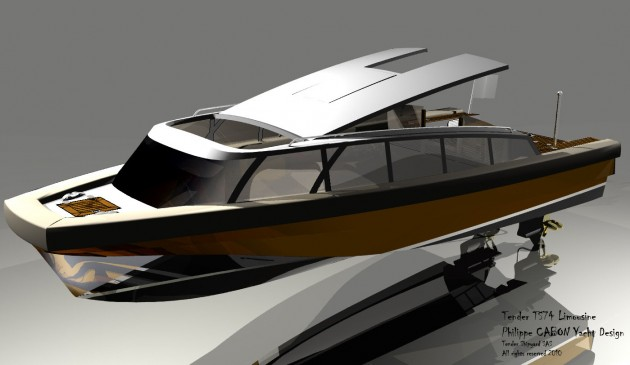 View large version of image: Tender Shipyard TS74 Limousine