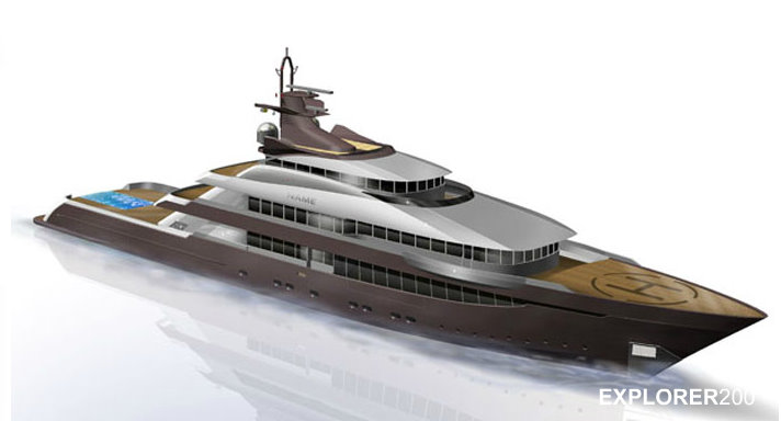 Columbus Explorer 200 Yacht Under Construction By Palumbo Due To Be Delivered In 2014