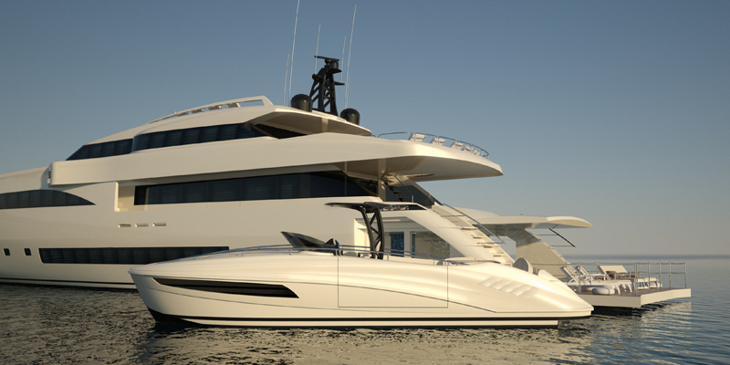 Wider 150 Superyacht Featuring Futher Developments