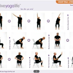 Chair Exercises For Seniors Handout Hanging Black Yoga With A Complete Set (classes 1 To 7) | Live Life