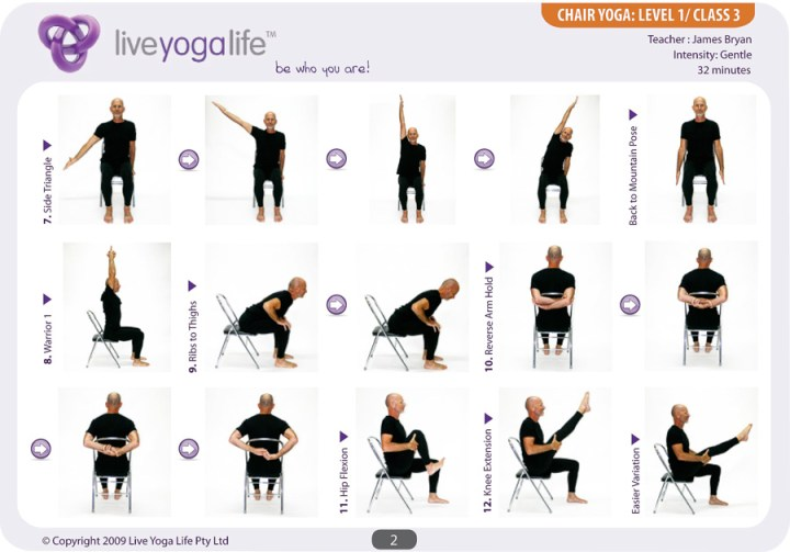 Current image throughout printable chair yoga poses