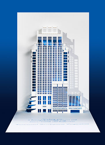 Origami Architecture Pop Up Cards By Live Your Dream Designs