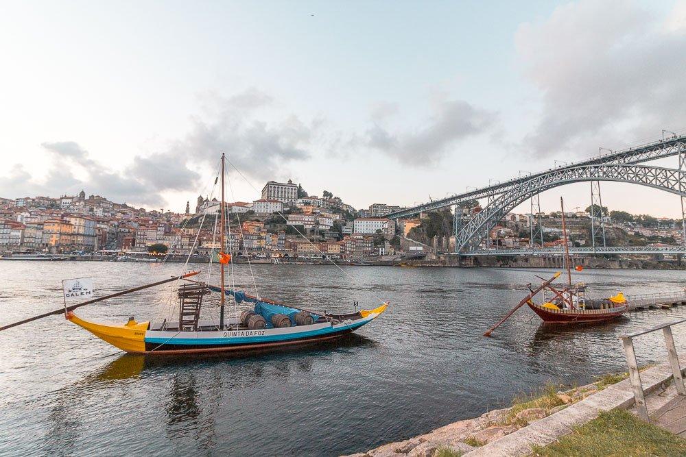 Ribeira fishing boats