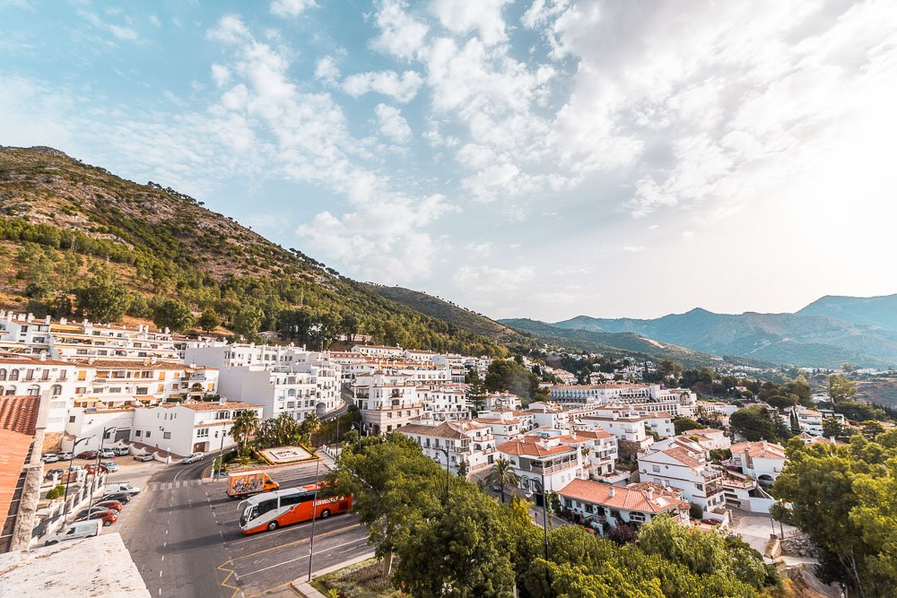 The view of Mijas and the nature that surrounds it.