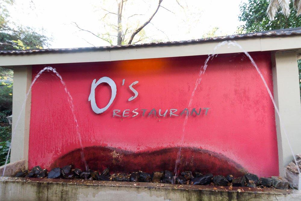 O's restaurant sign