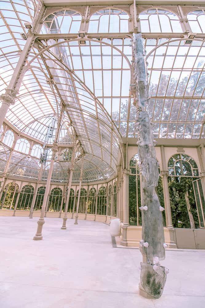madrid - Palacio de Cristal inside