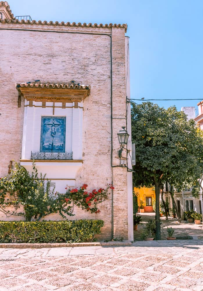 seville - barrio santo cruz neighbourhood