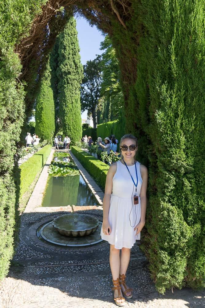 granada - alhambra gardens