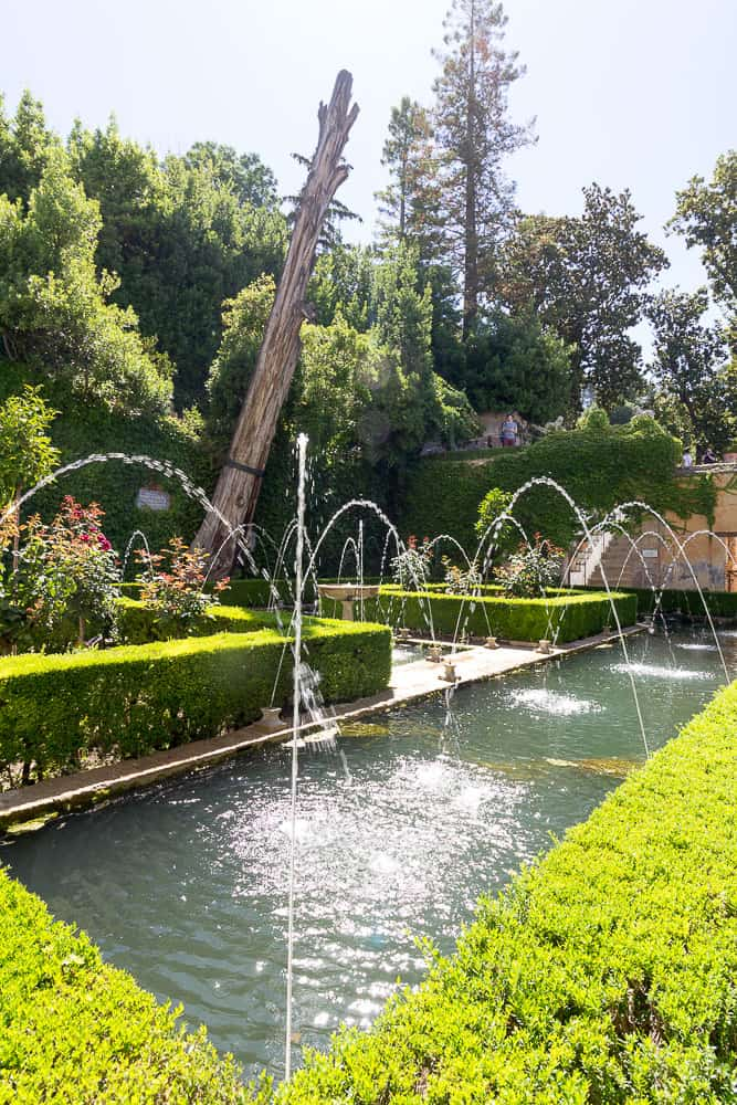 granada - generalife gardens