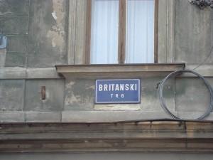 Britanski Trg