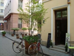 Bike Bake front door
