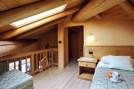 Slaapkamer op mezzanine