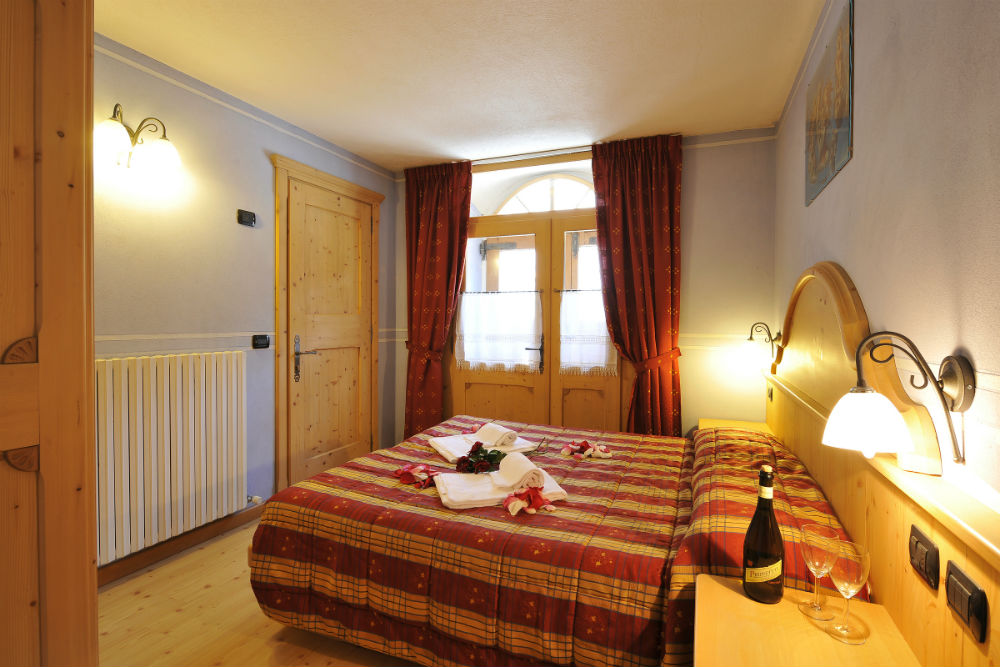 livigno appartement met sauna