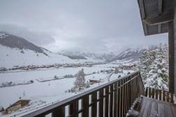View of Livigno centre
