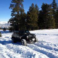 January Snow Run