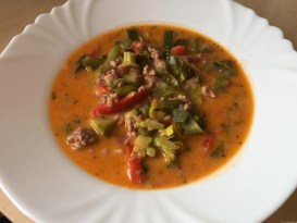 Gemüsesuppe Low Carb